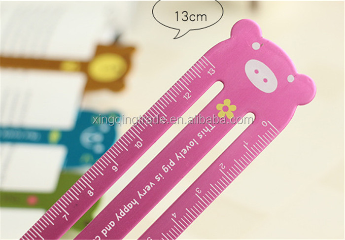 Bookmarks For Books Part - 33: Cartoon Animal Metal Bookmark 13cm Ruler Bookmarks For Books Notebook  Planner Accessories Stationery School Supplies