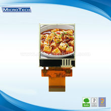 Small size 1.44 inch with SPI interface s7582 touch screen small lcd display