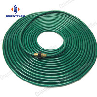 New material 100ft flexible high quality reinforced pvc garden hose for home & garden