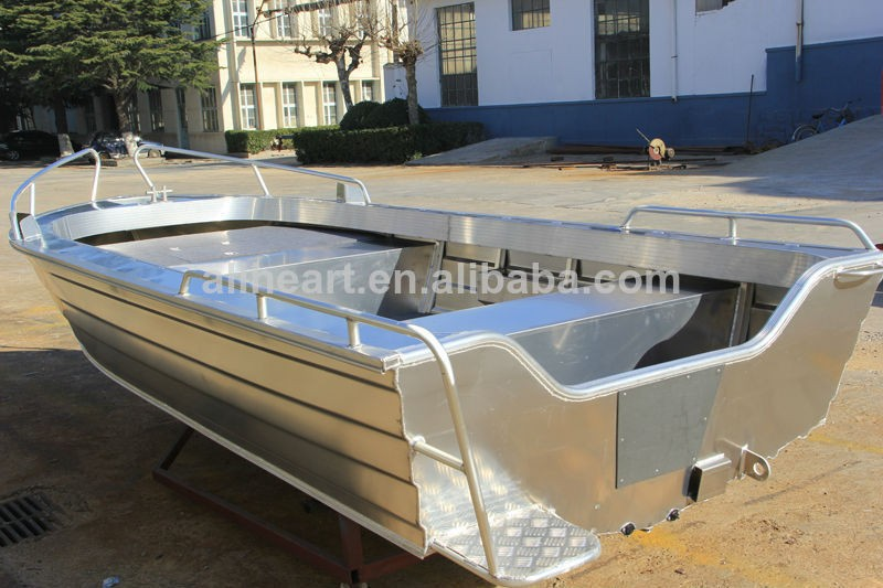 14ft All Welded Aluminum Used Fishing Boat