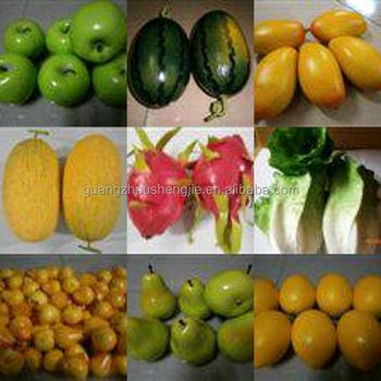 Sjh1492908 Gemuse Und Obst Deko Tools Kunststoff Obst Und Gemuse Fur