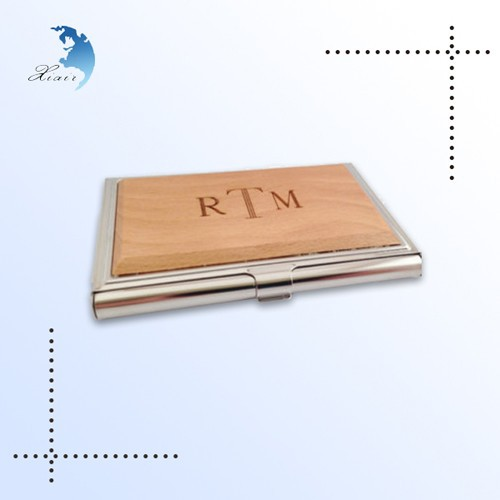 Customized Business Card Wood Box, Wood Box Packaging For invitation cards