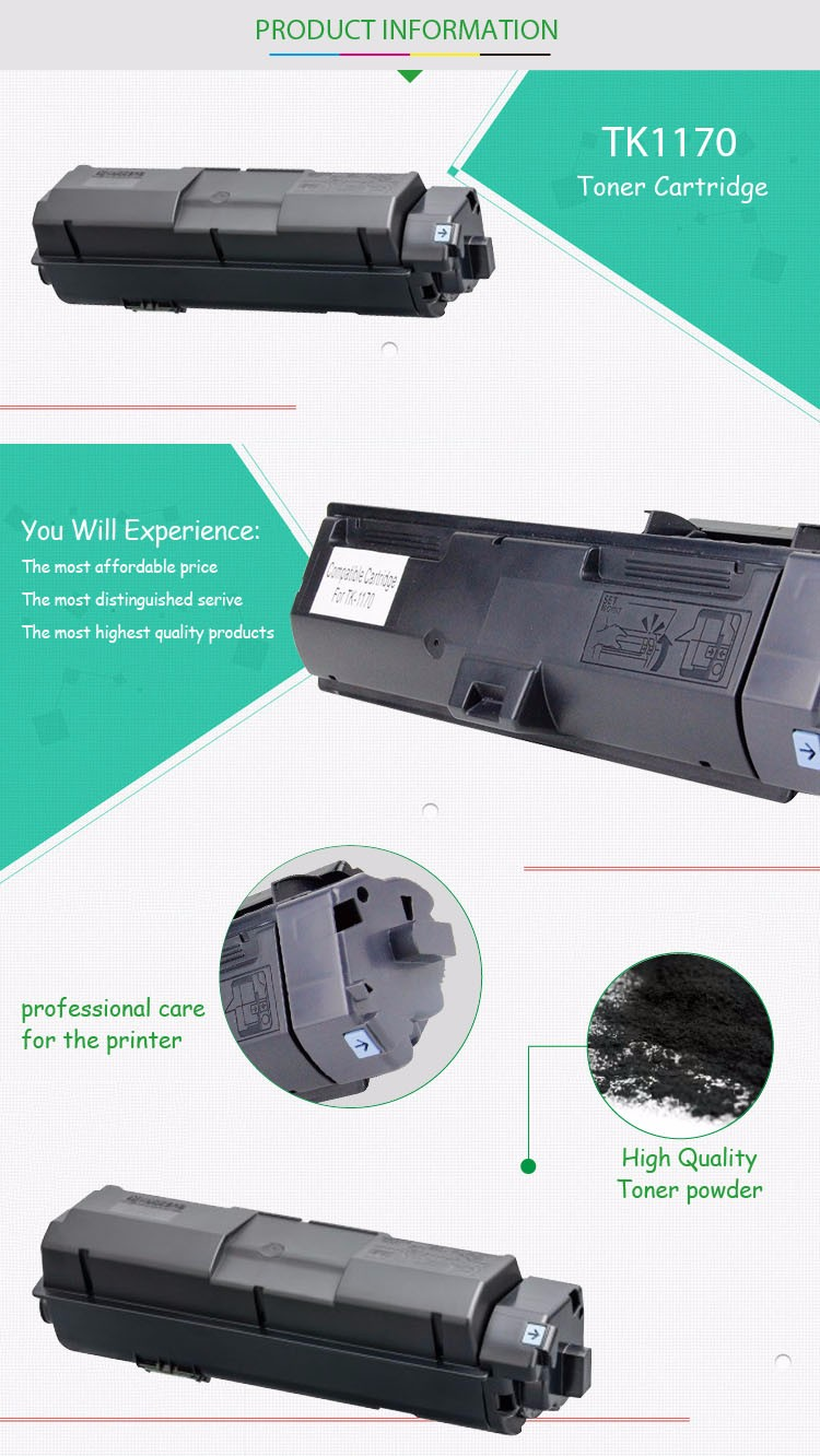 New Compatible Toner Cartridge For Kyocera Ecosys M2040dn M2540dn M 2040 Dn M2640idw Tk 1170 Tk1170