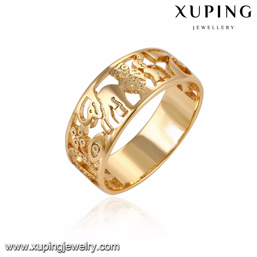 14121 xuping costume jewellery rings for girls simple