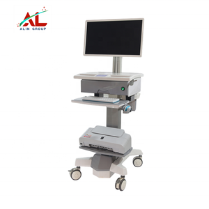 Hard Case Laptop All-in-one Computer Trolley for hospital