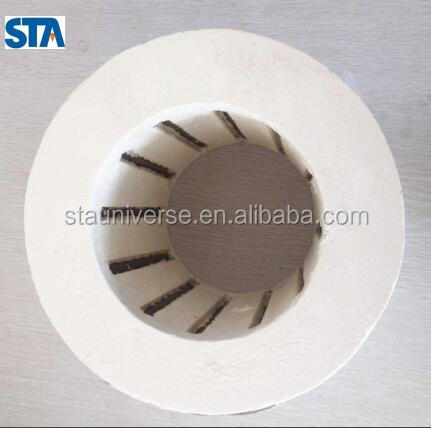 Zhengzhou manufacture STA cylindrical high temperature ceramic heater with Multi-hot zone