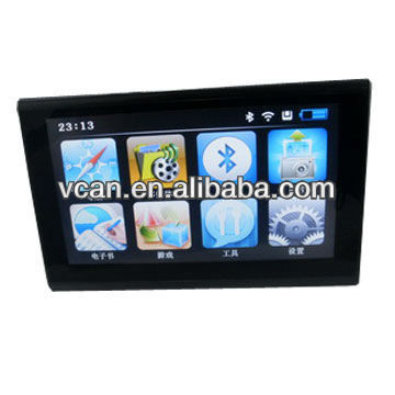 "7"" gps car tracker VCAN0283-28 Multimedia,Game, touch screen"