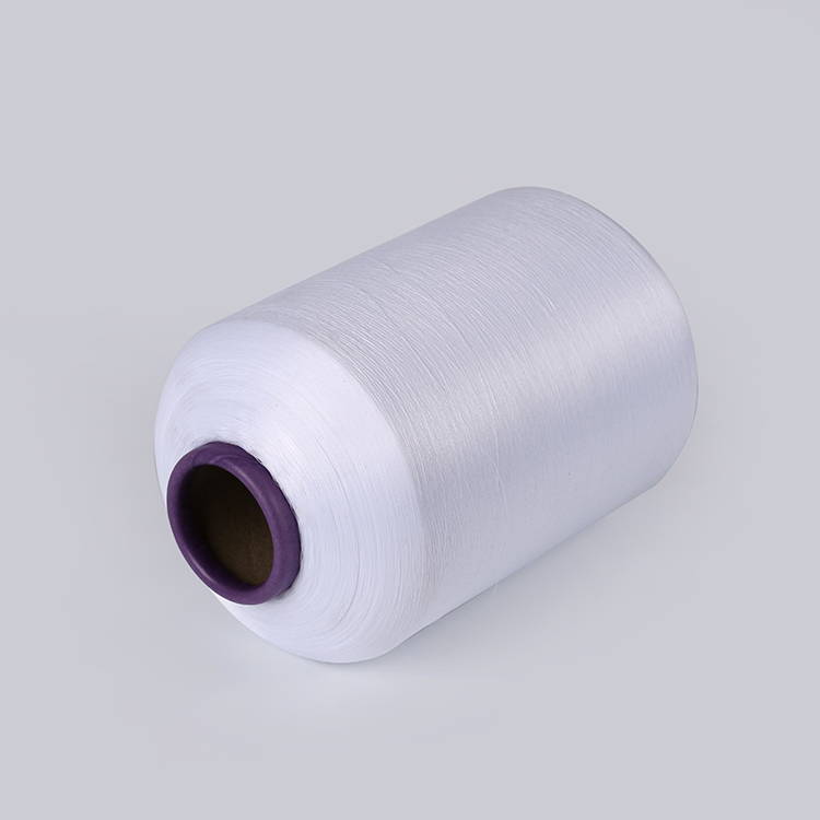 JINJIANG AA grade 150D/48F Semi dull Optical White DTY polyester textured yarn