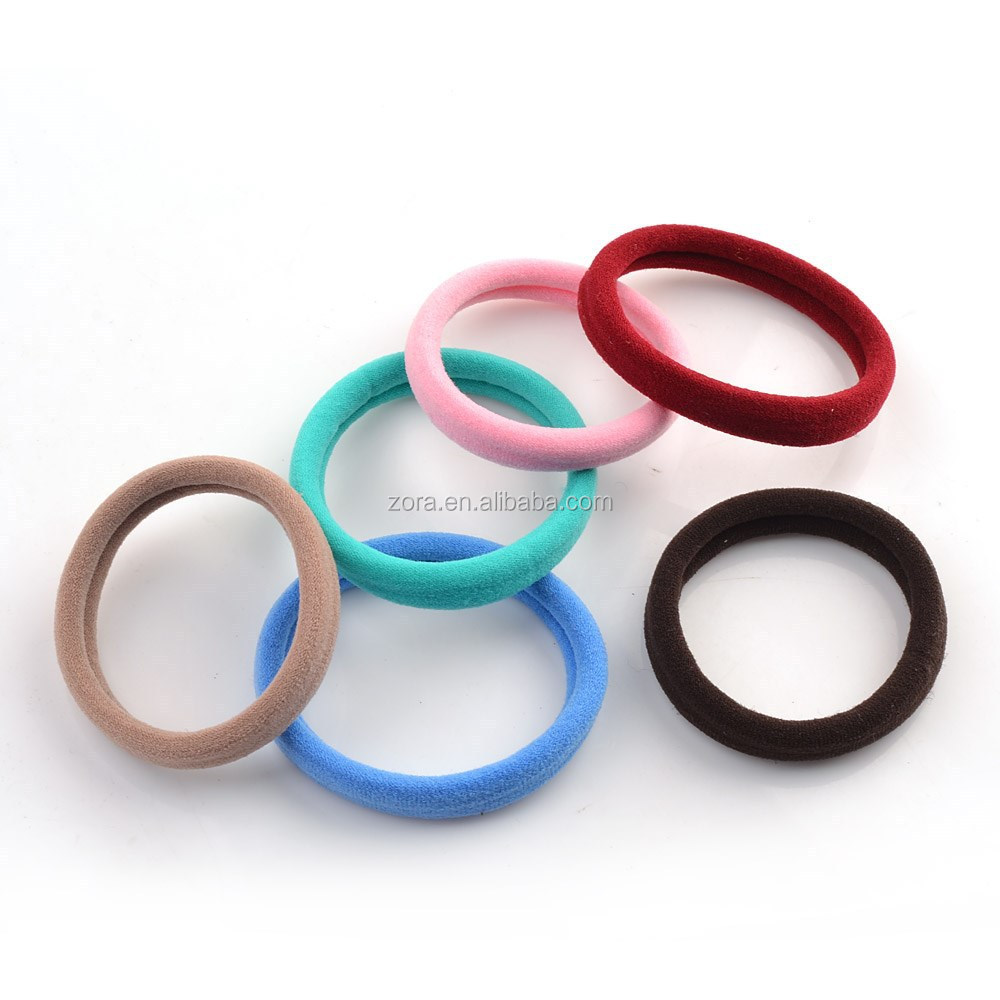 Lovely Girls Mix Colors Fabric Hair Elastic Bands - Buy Fabric Hair ... 4a54c8c7252