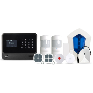 CDMA+WCDMA wifi smart home alarm system with global 3G network support
