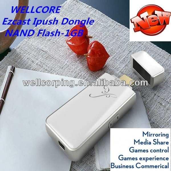2014 Newest ipush <strong>Dongle</strong>! DLNA Wireless Display!for Smart Phone connect to <strong>TV</strong>! <strong>hdmi</strong> wifi ipush <strong>dongle</strong> Manufacturer