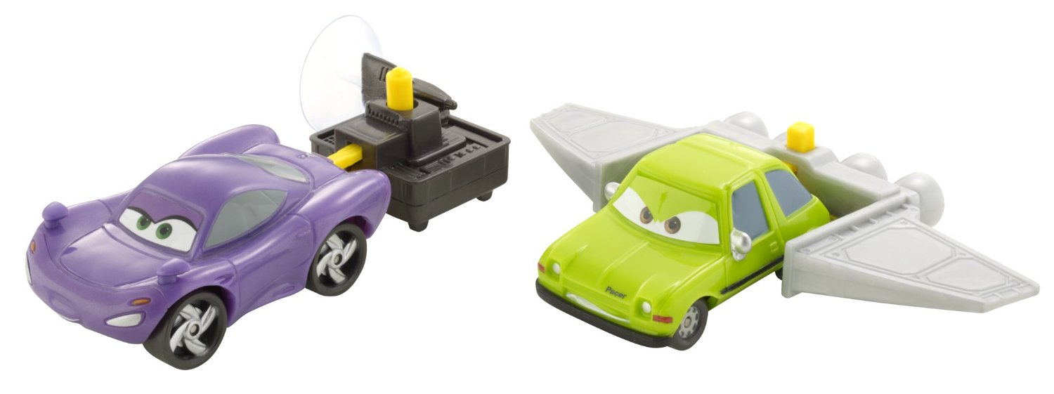 Cars 2 Action Agents Battle Pack Holley Shiftwell & Acer