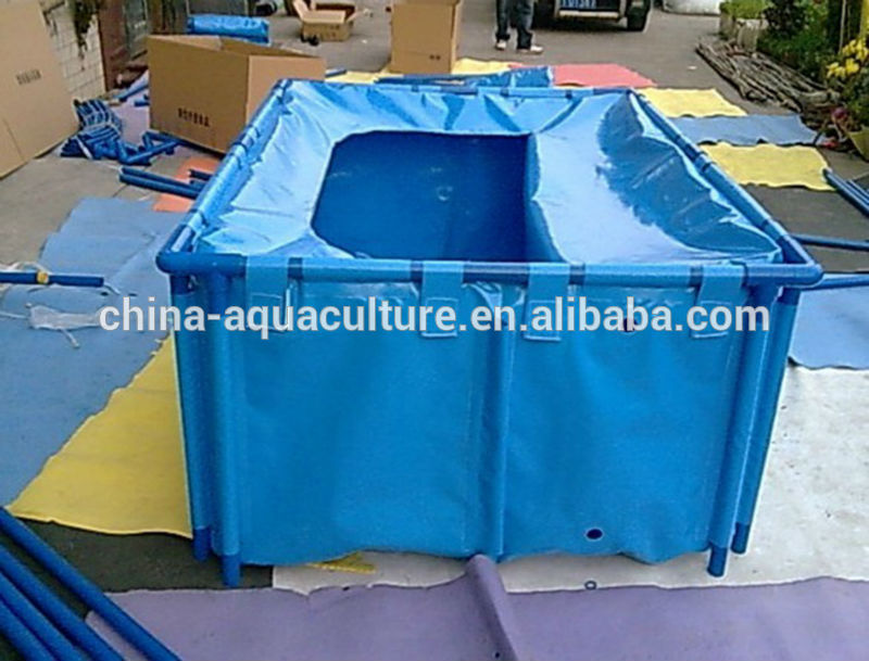 450gallon durable collapsible fish tanks buy collapsible for Aquaculture fish tanks