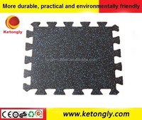 Factory Price Rubber Flooring / Rubber Gym Flooring For Exterior ...