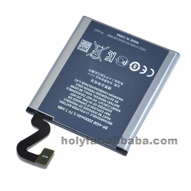 handy akku f r nokia 4gw 920 reale kapazit t 3 8 v 2560 mah digital batterien ersatz mit telefon. Black Bedroom Furniture Sets. Home Design Ideas