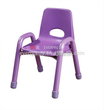 Kids Stackable Plastic Chairs With Armrest