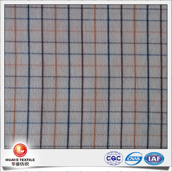 yarn dyed camel gingham check carbon peach 100 percent cotton oxford cloth <strong>fabric</strong>