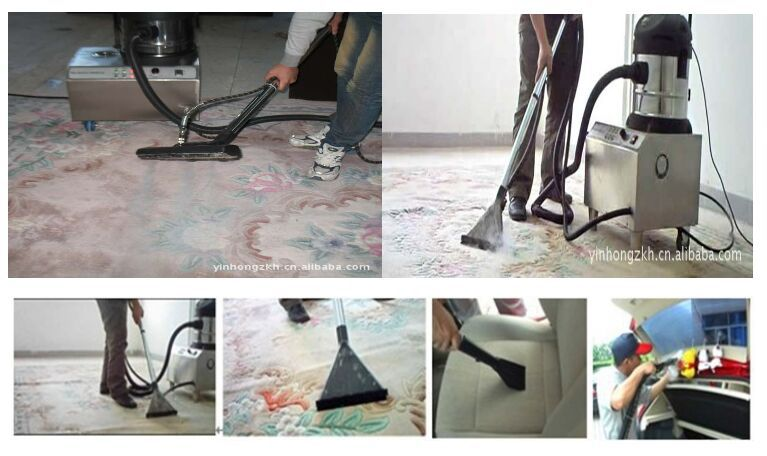 High Efficient Steam Vacuum Cleaners For Carpet Washing