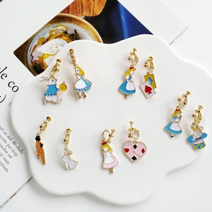 2018 Creative New Fairy Tale Anime Cartoon Fashion Asymmetric Earrings