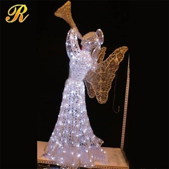 finest selection 08069 f2c11 3d Lighting Angel Led Fairy Lights Status For Holiday Decoration - Buy  Light Up Angel,Led Fairy Lights Status,Holiday Decoration Product on ...