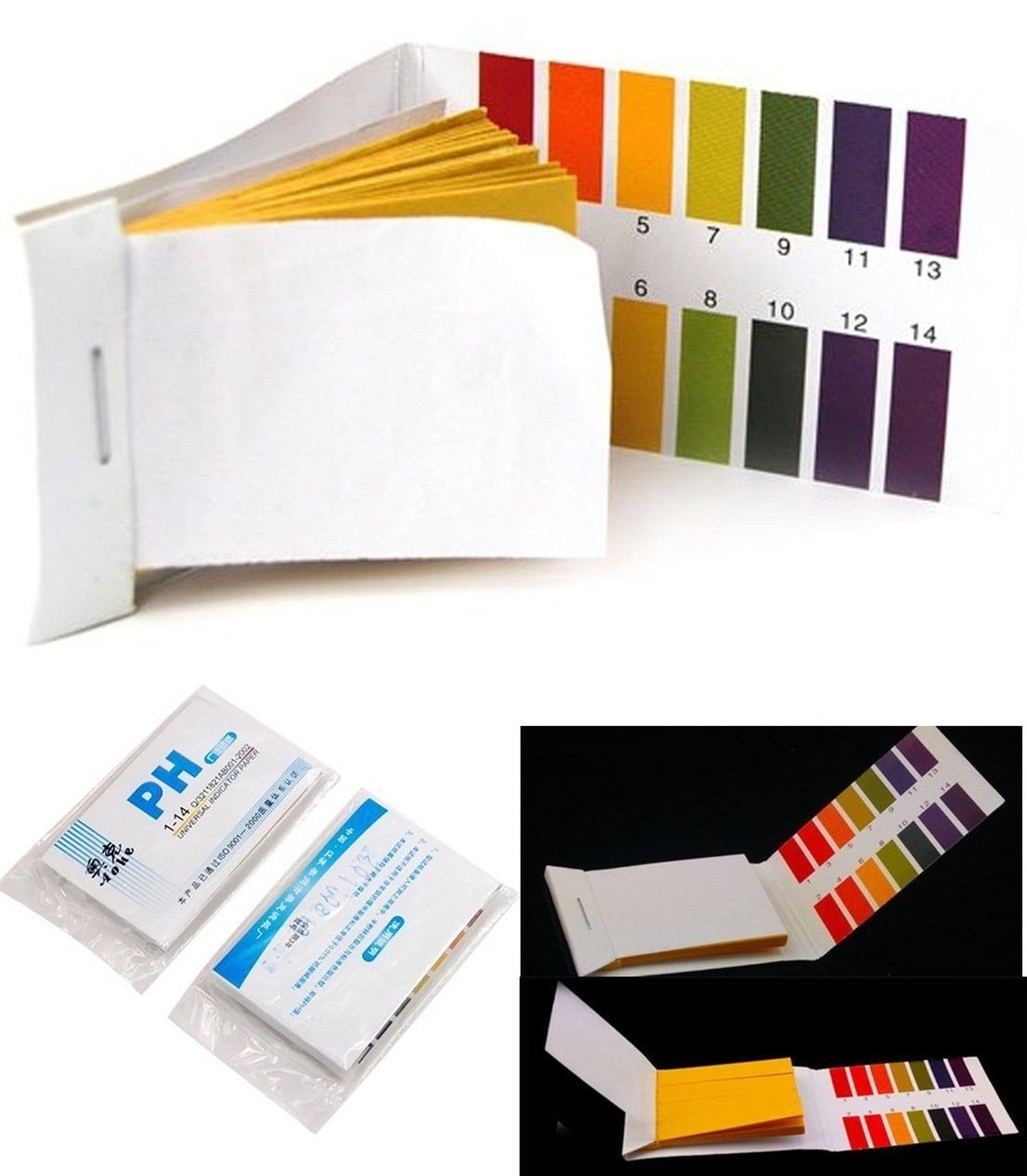 Cheap ph paper color chart find ph paper color chart deals on get quotations 160 tester worthy popular ph test strips accurate results 1 14 paper range practical with geenschuldenfo Gallery