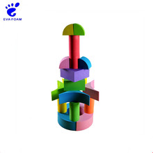 Self-assembly new intelligent educational toys diy foam building block for kids