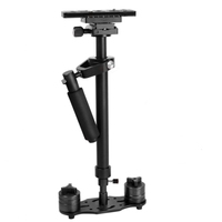 YELANGU S60N Aluminum Steadicam Handheld Stabilizer for Camcorder DV Video Camera DSLR