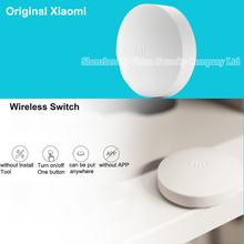 Original Xiaomi Wireless Switch Intelligent Home Control Zigbee Wireless Chip 15 Seconds Quick Response Work with Xiaomi Gateway