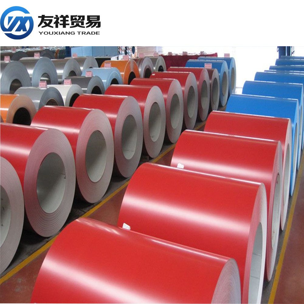 printed ppgi/secondary quality Prepainted GI steel coil