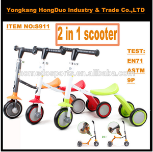 T Bar Kids Scooter cool 2 in 1 kids 3 wheel scooter