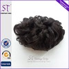 Synthetic Wig Manufacturer Wholesale Price Black Synthetic Hair Bun Pieces