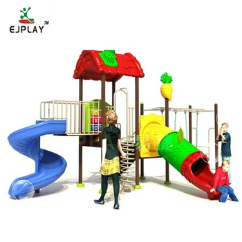 High Quality Durable Using Commercial Outdoor Playground Children Slide