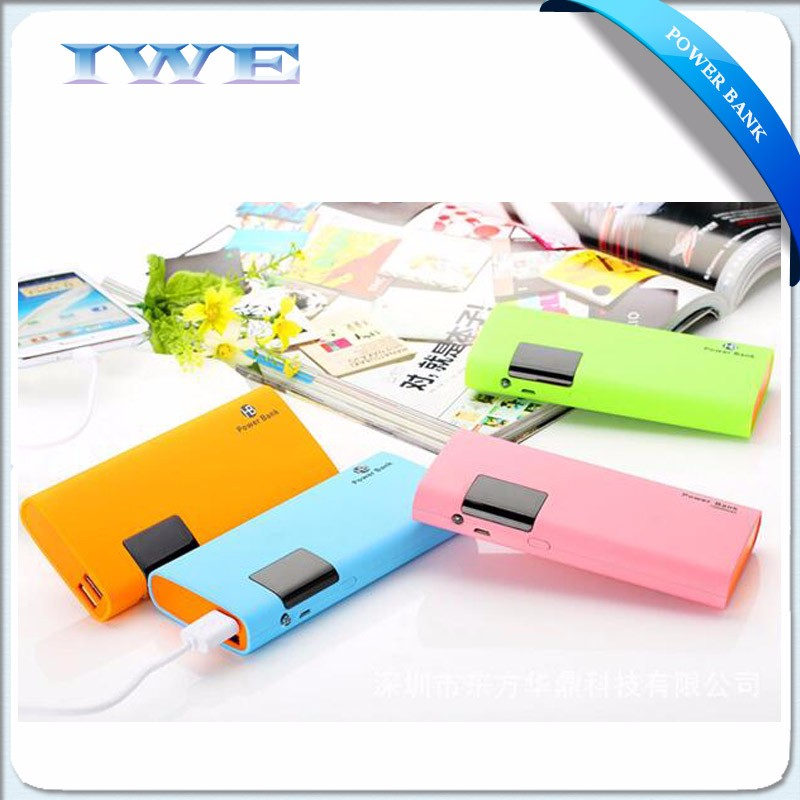 2016 Trending Products dual usb 2A fast charging 10000 Mah Powerbank for iPhone, Samsung, iPad
