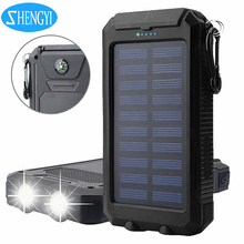 New Products 2017 mp s12000 Mini Projector Move Power Bank Solar Charger 10000mAh