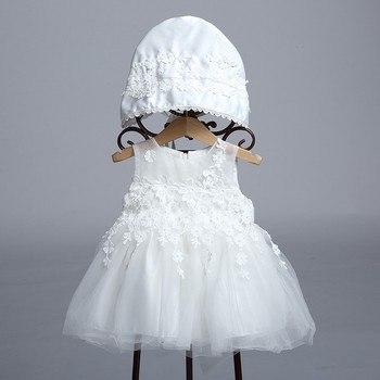 54fb8709c Baby Girls Infant Baptism Dresses for Baby Baptism Clothes White Toddlers  Dresses LBB001