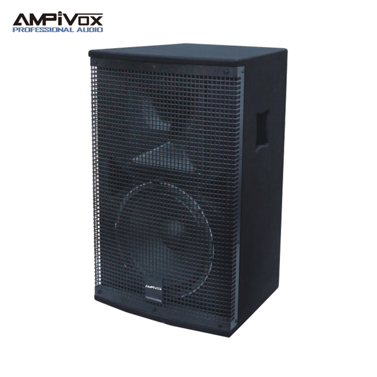 Wooden 12 inch 700W speaker box driver enclosure price