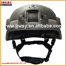 MSA TC 2000 ACH /MICH2000 ballistic helmet with side rails in NIJ IIIA level