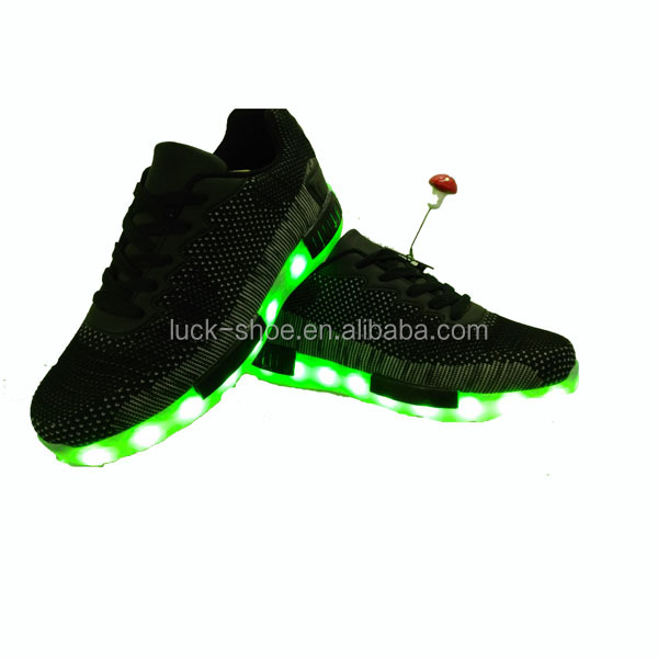 2016 Fashion EVA Sole MEN Lighting LED Shoes
