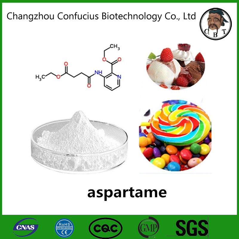 Food additives Pure Strong Sweet Powder bulk aspartame sweetener