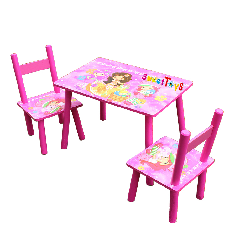 Children 39 S Cartoon Spongebob Wood Study Tables And Chairs