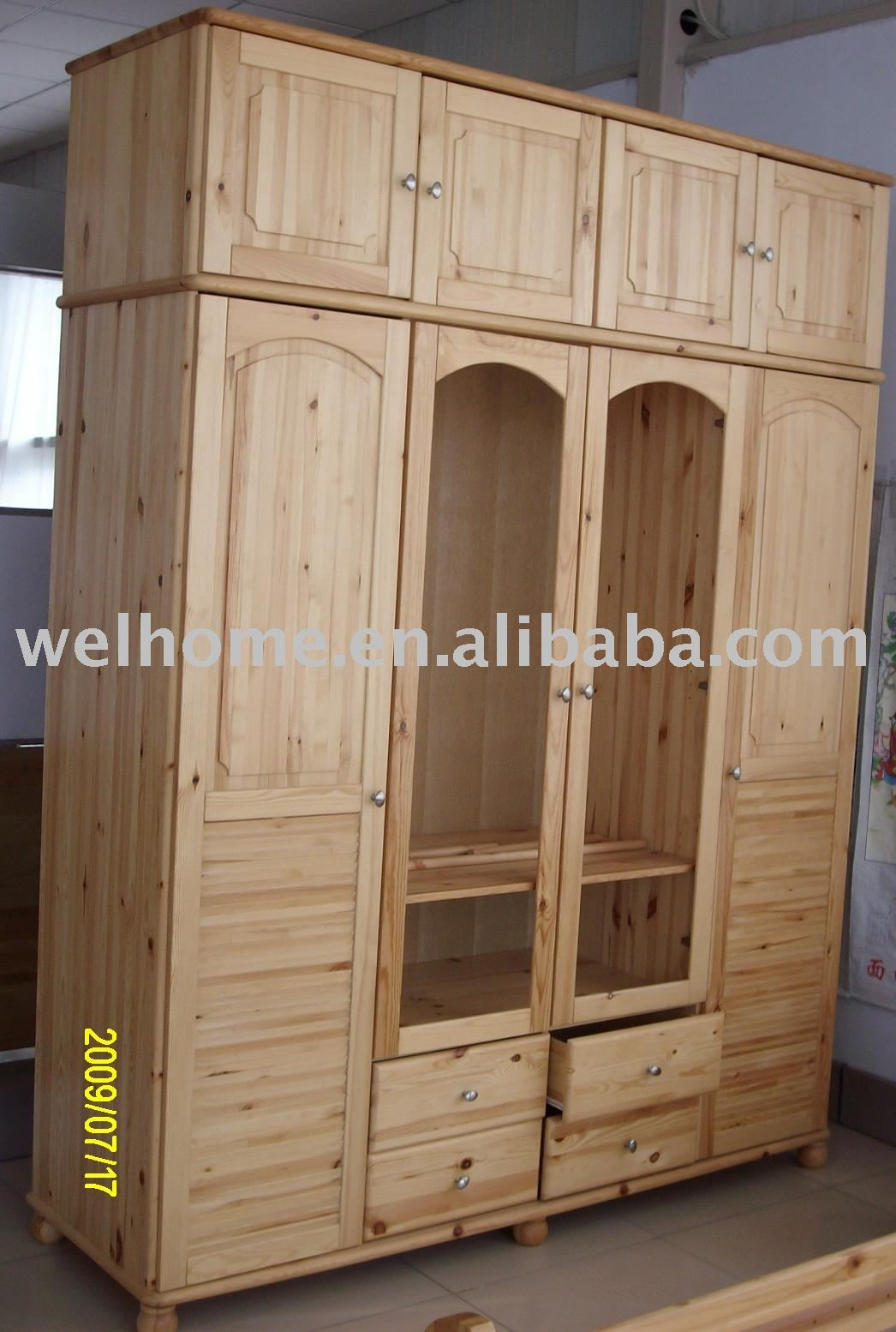 F8304 Wooden Armoire Clothes Wardrobe Wood Furniture Buy
