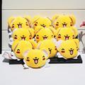 10pcs lot Anime Cardcaptor Sakura Kero Plush Toy Stuffed Doll With Ring Plush Keychains Pendant 7cm