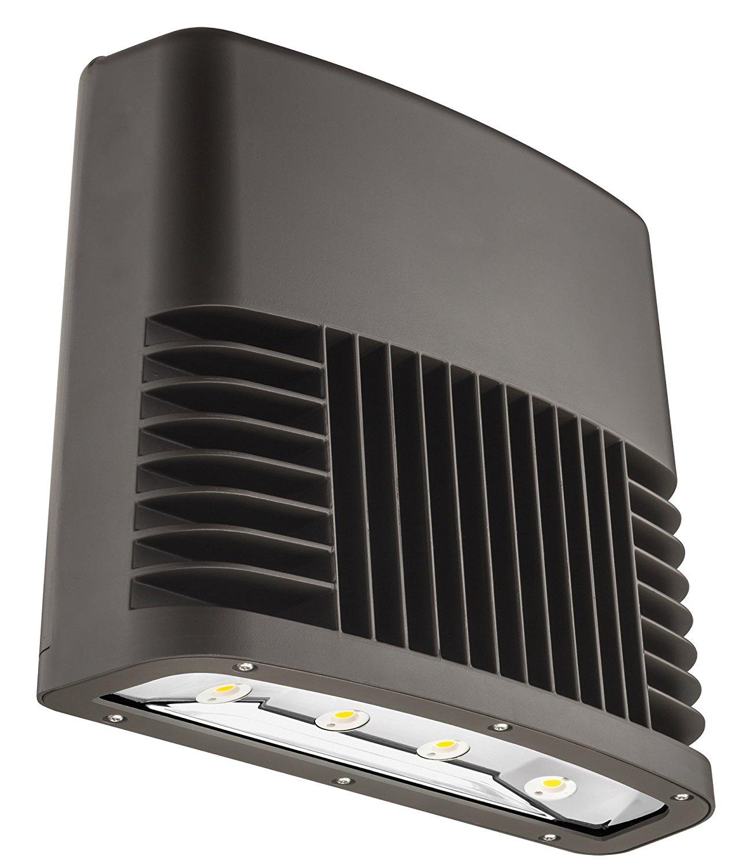 Lithonia Lighting OLWX2 LED 150W 50K 120 PE DDB M2 LED Wall Pack, Black Bronze