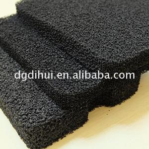 Odor adsorption anti dust air filter foam sponge
