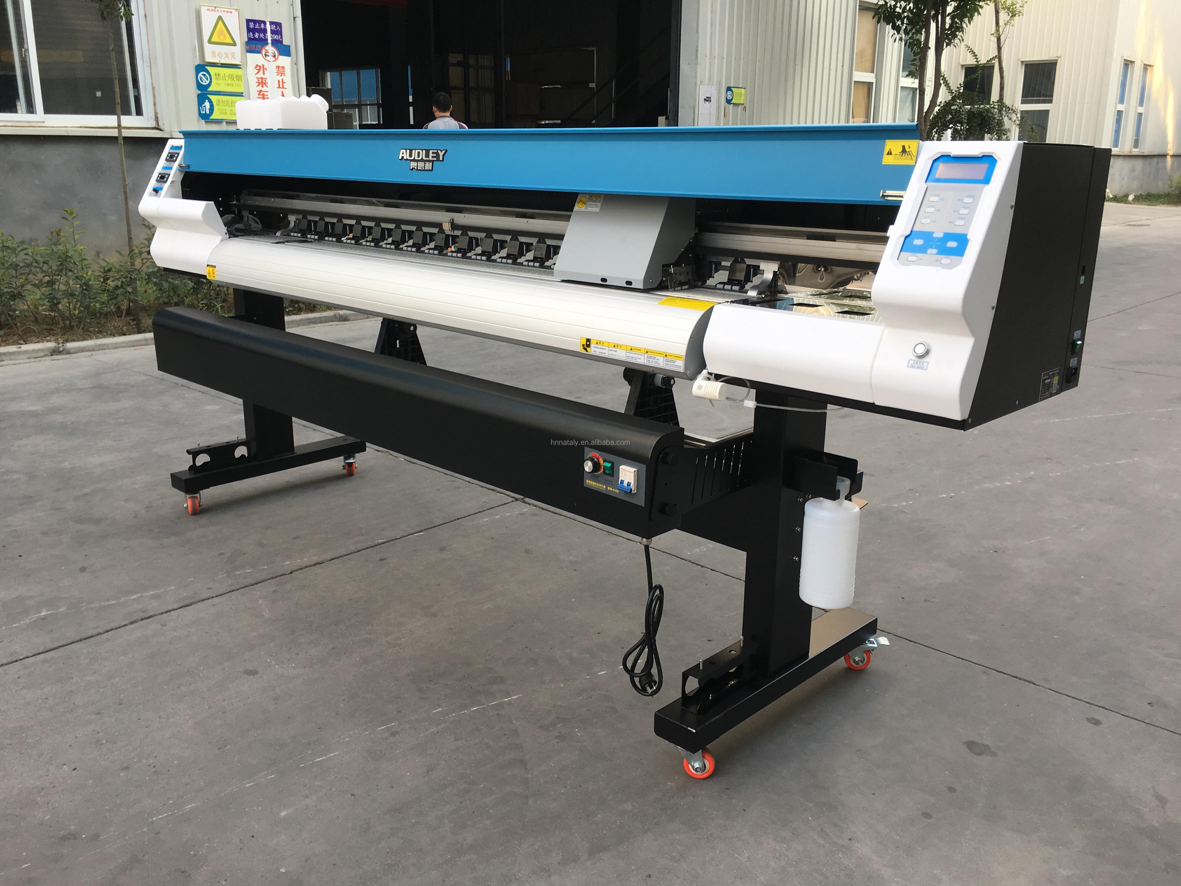 Большой формат 1 8 м 4 цвета баннер автомобиля стикер эко растворитель принтер 4 colors eco solvent printer.JPG