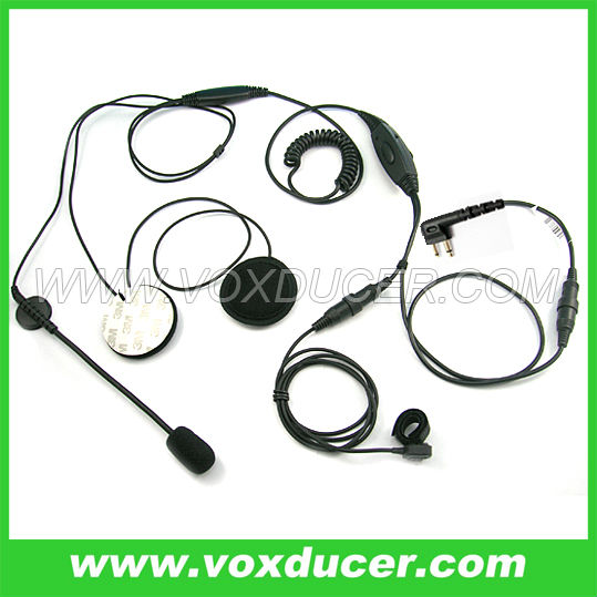 Dual speakers Helmet Headphone for Motorola GP68,GP88 DTR550 DTR610 DTR650 PRO1150 PRO2150 PRO3150 MU11 MU11C MU11CV MU12 MU12CV