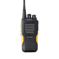 Best price vhf 136-174mhz uhf 450-470mhz 5w high quality two way radio portable Hytera radio HYT TC-610 vhf uhf handy radio