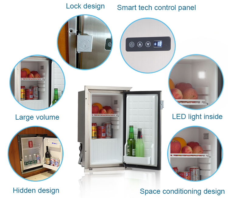 Marine Refrigerator/yatch Boat Fridge - Buy Marine Refrigerator,Marine  Fridge,Boat Fridge Product on Alibaba com