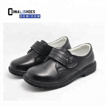Connal China Genuine leather Boys children custom School shoes