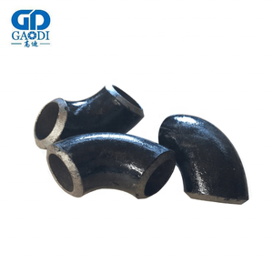 Factory Produce MSS SP-43 Gr.2 90 Degree DN80 DN100 Nickel Seamless Elbow For Oil Industry Use